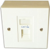 CAT 5e data faceplate